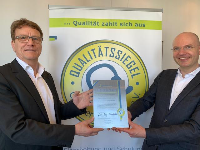 Sutter Dialog erhält erneut das Qualitätssiegel des Call Center Essen e.V.
